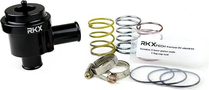 RKX 1.8T 2.7T Precision machined Diverter Valve BLACK for VW & Audi MK4, B6, B5, C5 1998-2005