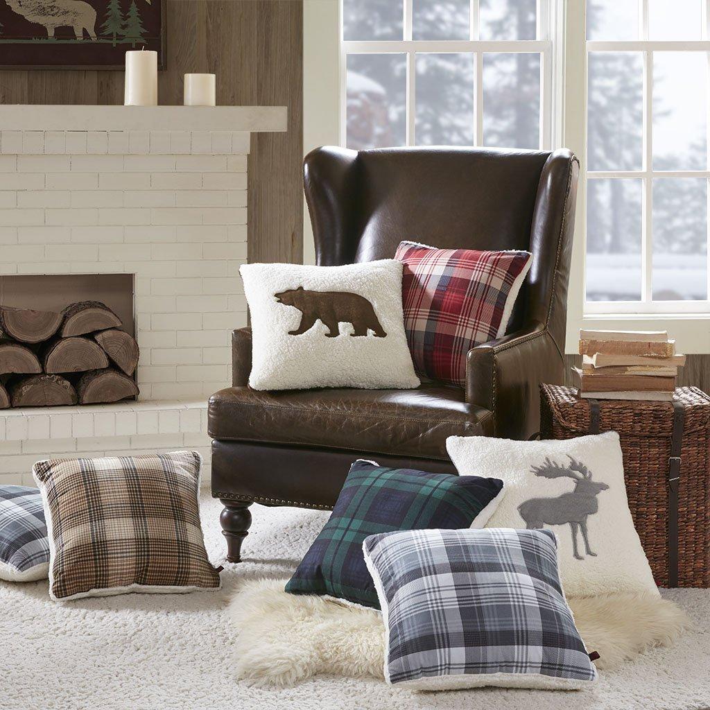 Woolrich Bear Pillow