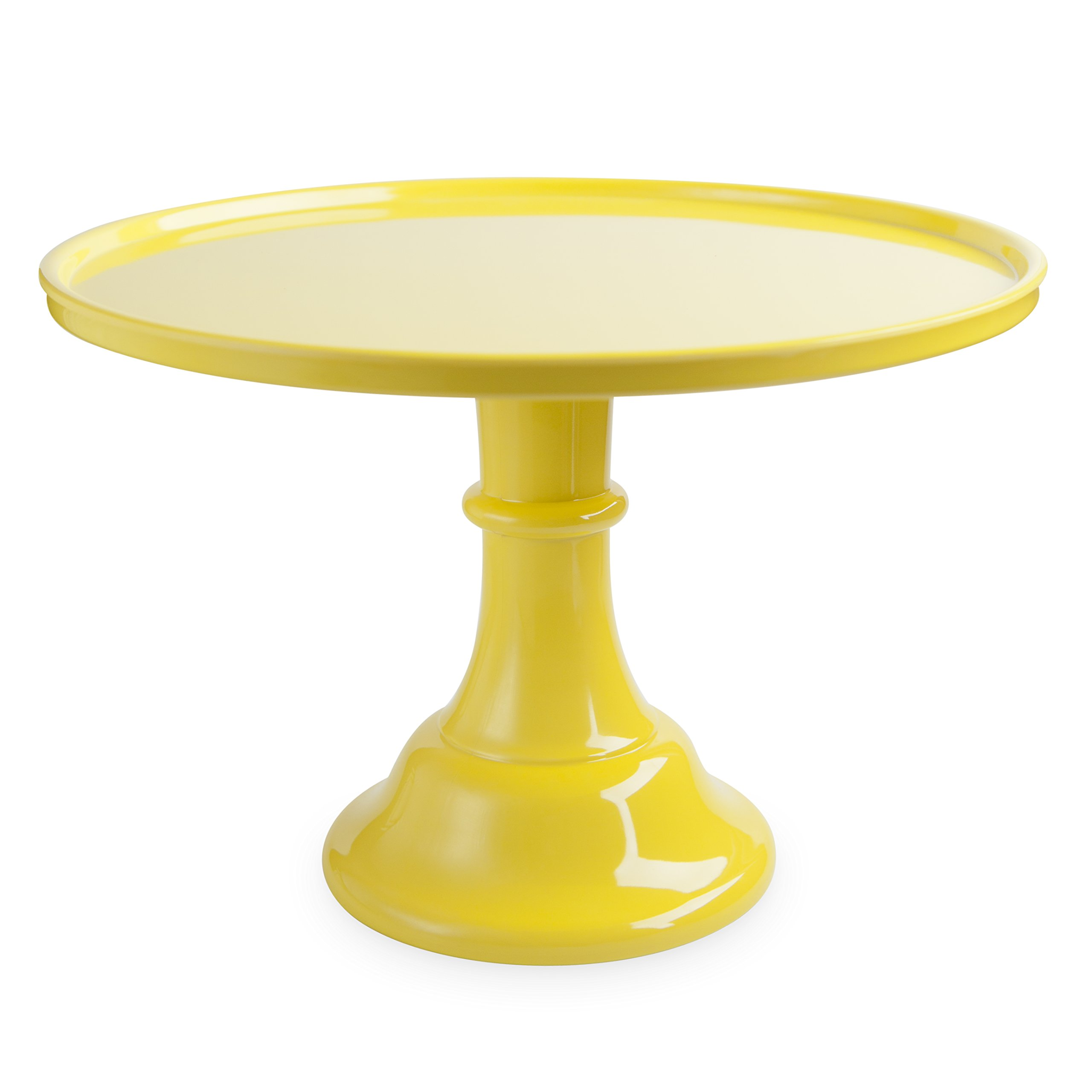 Cakewalk 6466 Melamine Cake Stands, One Size, Yellow