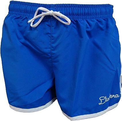 61023 Diadora Pantaloncino Short Mare Donna in Nylon Beachwear Art