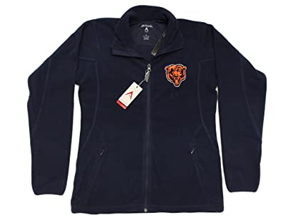 917041463 Amazon.com   Antigua Chicago Bears NFL Women s Ice Full Zip Fleece ...