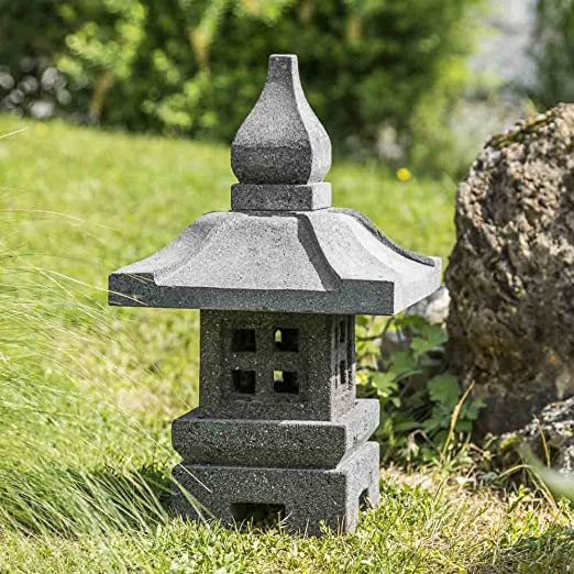 Wanda collection Linterna de jardín japonés decoración Zen 50 cm: Amazon.es: Jardín