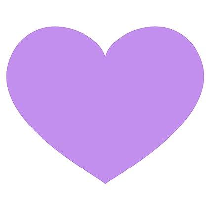 purple heart emoji metal sign