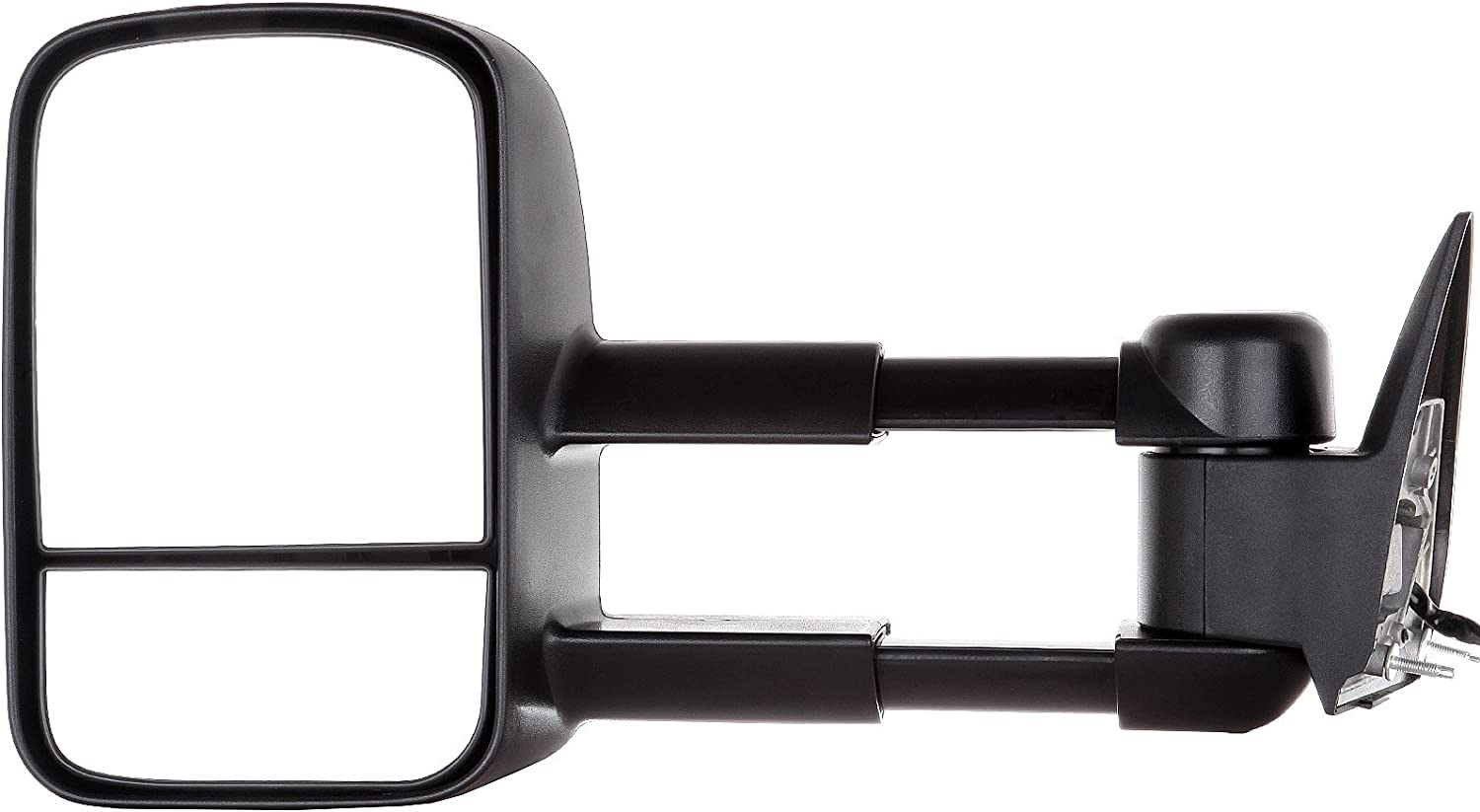 cciyu Left Right Towing Mirror Tow Mirrors Replacement Fit for 1988-2000 Chevy//GMC C//K 1500//2500//3500 1992-1999 Chevy//GMC Suburban 1500//2500 Pair Power Adjusted Black Housing