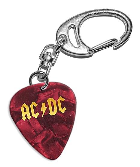 Acdc Púa de Guitarra Llavero Keyring Red Pearl (GHF ...
