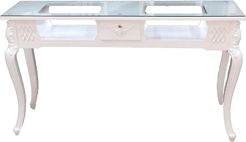 SANDYCOSMETICO Mesa Vintage para manicura de un cajon: Amazon.es ...