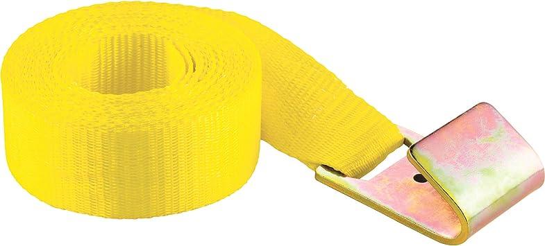 SmartStraps 850 Yellow 10,000 lbs Capacity Tire Bonnet Tie Down Strap