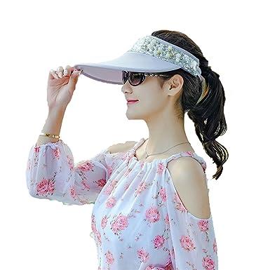 7cd6597ab0302 Flower-Bud Female Summer Fashion Travel UV Protection Folding Hat ...