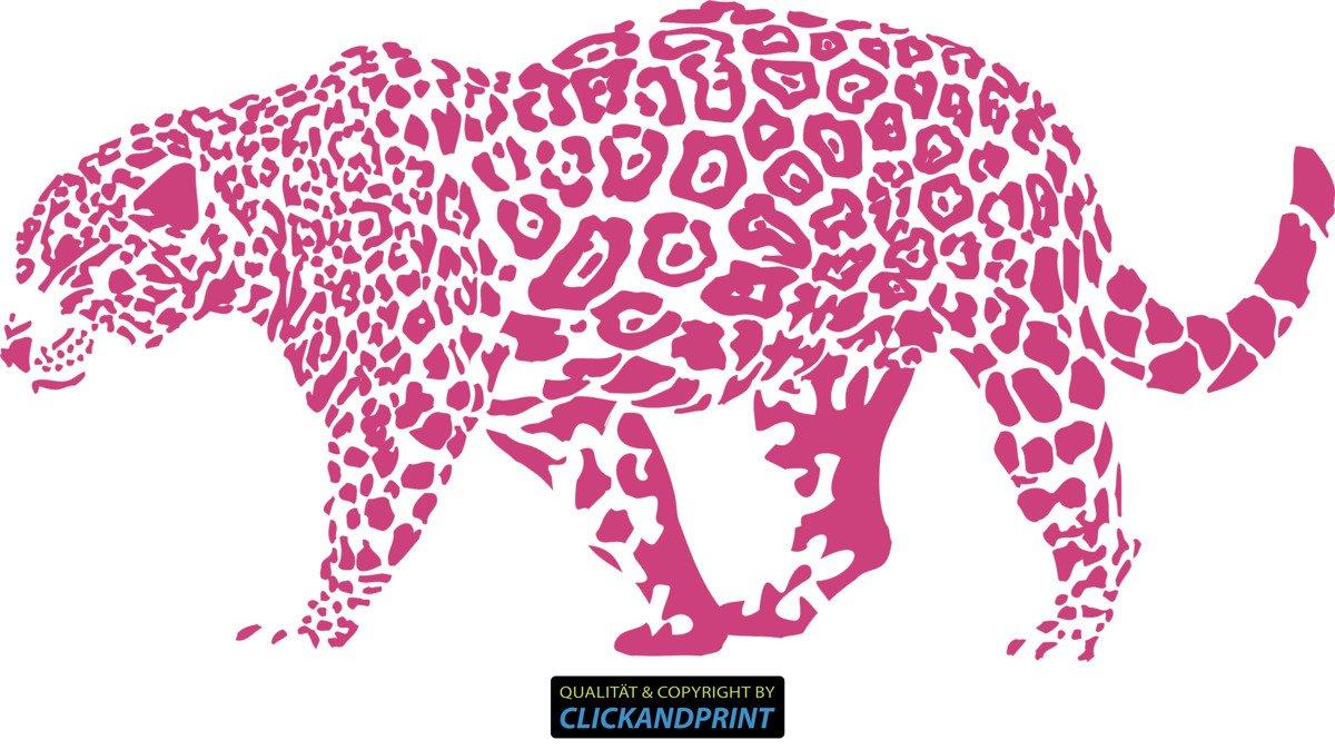 CLICKANDPRINT Aufkleber » Leopard, Leopard, Leopard, 150x74,4cm, Türkis • Wandtattoo   Wandaufkleber   Wandsticker   Wanddeko   Vinyl B073X899BC Wandtattoos & Wandbilder d61d04