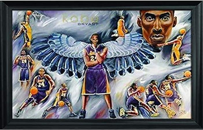 Kobe Bryant Star Artwork Custom Poster Art Fabric 5404
