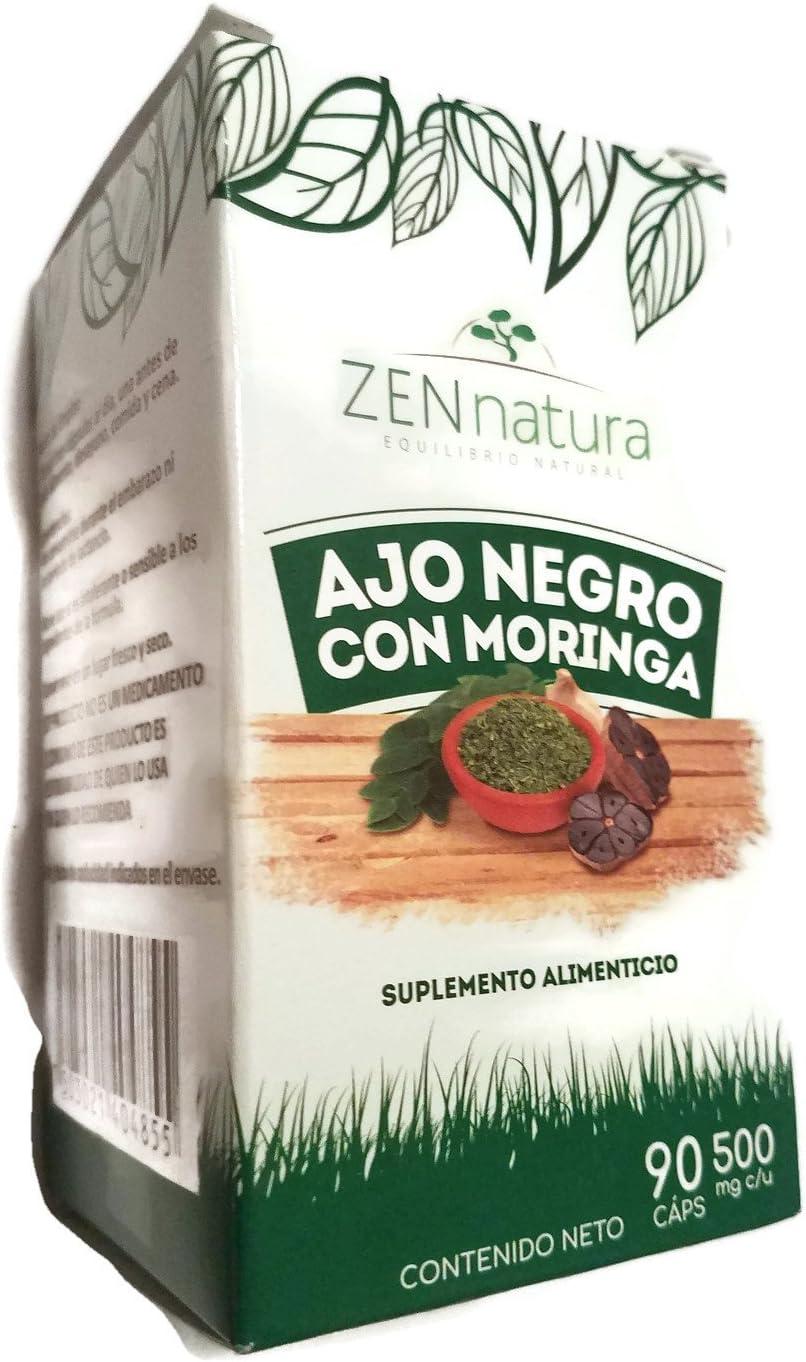 Ajo Negro Con Moringa 90 Tabletas Ajo Negro Con Moringa 500 Mg Health Personal Care
