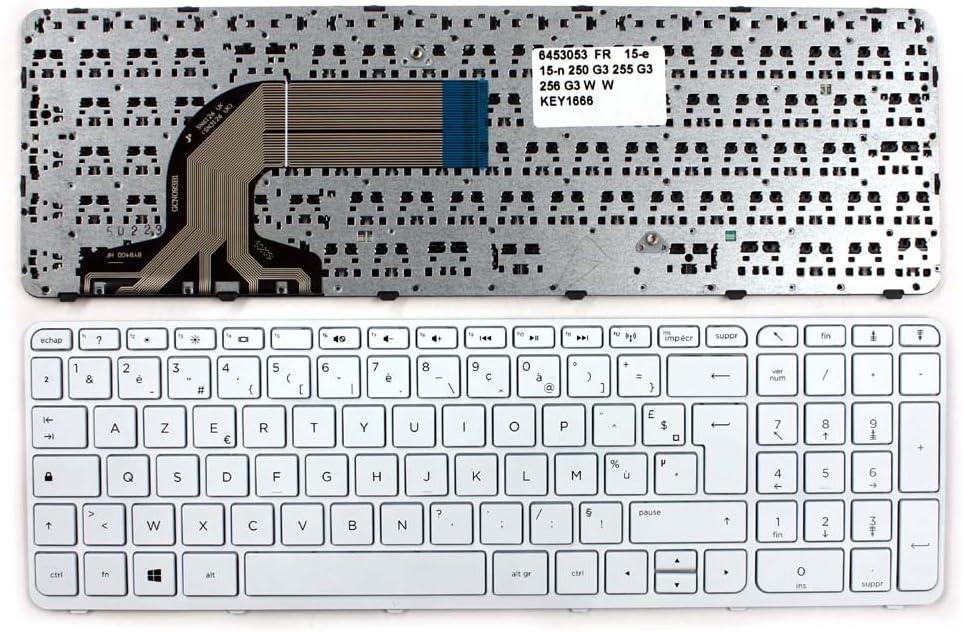HP Pavilion 15-N206NR HP Pavilion 15-N206TX HP Pavilion 15-n206TU Keyboards4Laptops French Layout White Frame White Windows 8 Laptop Keyboard for HP Pavilion 15-n206AU HP Pavilion 15-N206SL