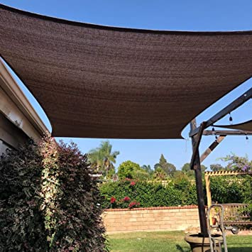 DOKJ Toldo con Ojales para Muebles de jardín, terraza Patio Plan ...