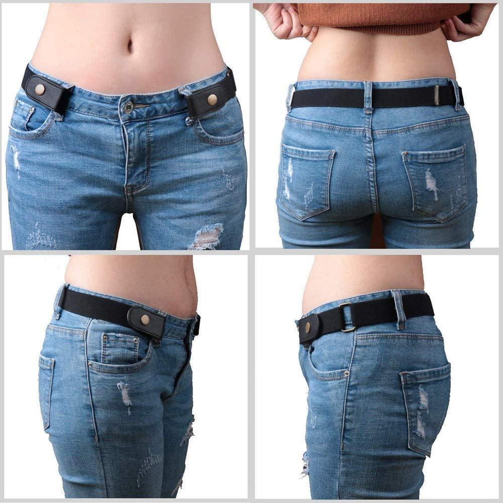Outtop Buckle-Free Invisible Stretch Belts for Men//Women Belt for Jeans//Pant//Dress Waist Belt No Bulge Hassle TM