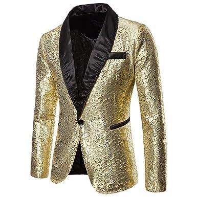 QXPORV Suit Blazer Jacket Jacquard Vestidos de Rendimiento de ...