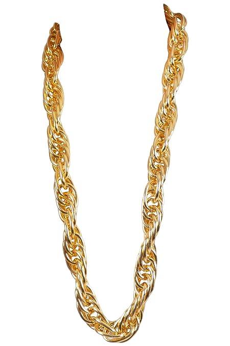 Arsimus Heavy 40-Inch Gold Pimp Rapper Chain Necklace  b7e8b5b6f0