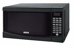 RCA RMW733 0.7 Cu. Ft. Microwave, White, Black