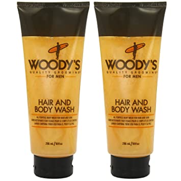 Amazoncom Woodys Hair Body Wash 10 Ounce Pack Of 2 Beauty