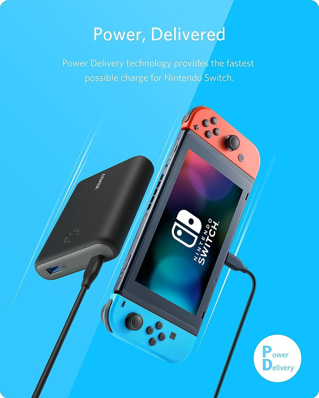 Anker Batería Externa PowerCore Ión de Litio Nintendo Switch ...