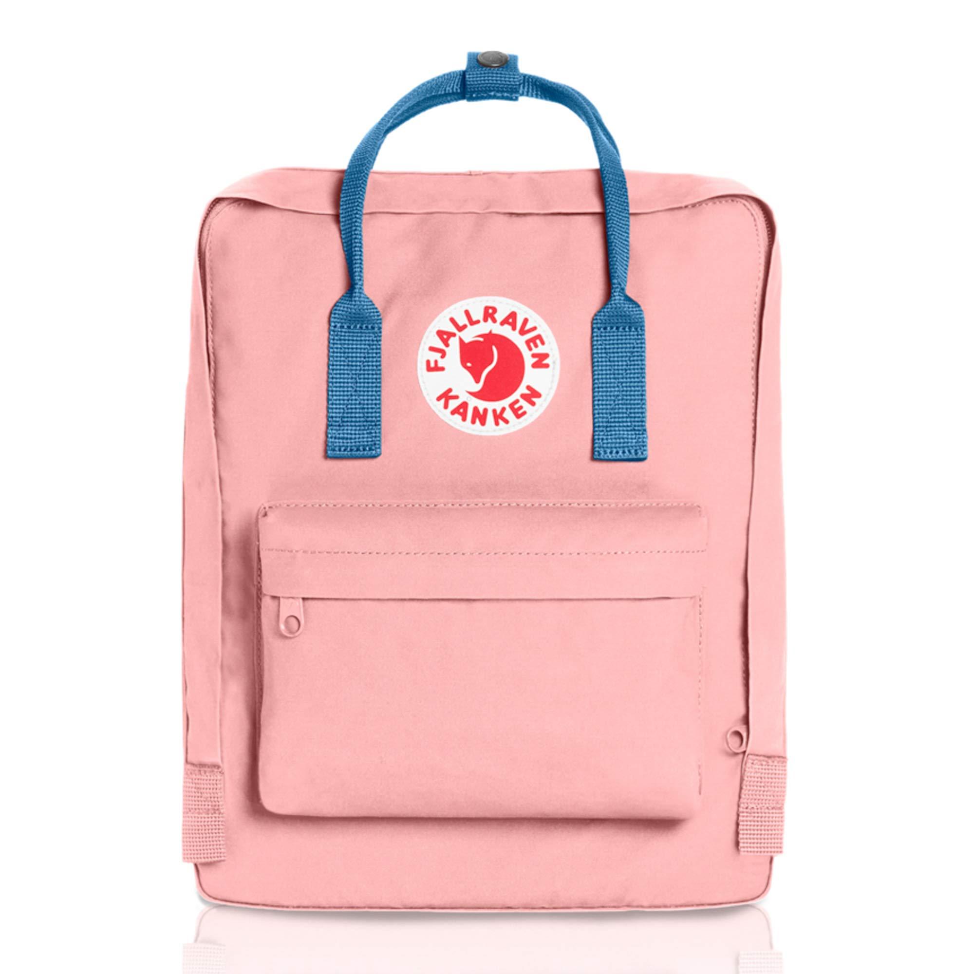 Fjallraven - Kanken Classic Backpack for Everyday, Pink/Air Blue by Fjallraven