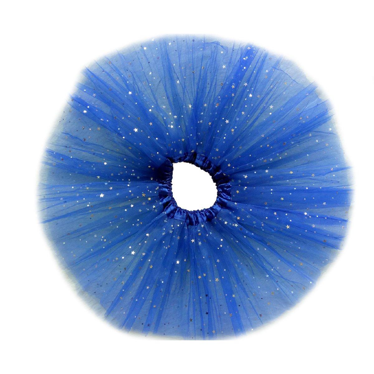 Monalia Stage Show Slip Flower Girl Crinoline Tutu Skirt Petticoat Night Sky MPC16