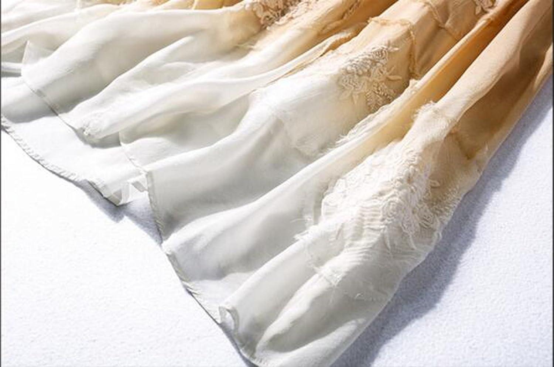 China Palaeowind Spring And Summer Female Silk Dress Dress