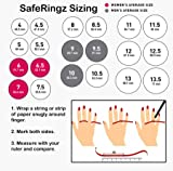 SafeRingz Silicone Wedding Ring, 6mm, Made in The