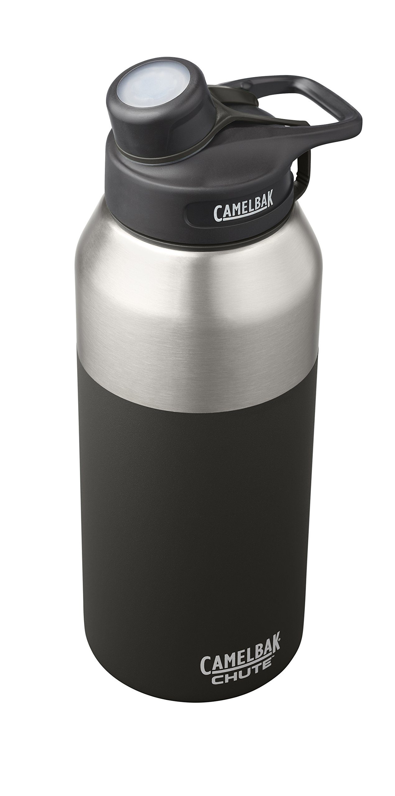 CamelBak 53868 Chute Vacuum Insulated Stainless Water Bottle, 40 oz, Jet by CamelBak (Image #2)