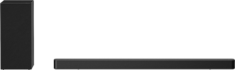 LG SN6Y 3.1 Channel 420 Watt High Res Audio Sound Bar with DTS Virtual:X, Black