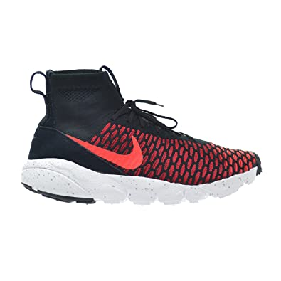 sale retailer 5e1a0 0e924 Nike Air Footscape Magista Flyknit Men s Shoes Black Bright Crimson Gym Red  Cool