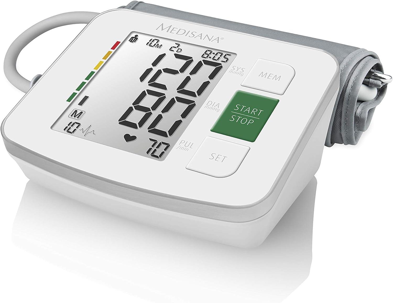 Medisana BU 512 Antebrazo Automático 2 Usuario(s) - Tensiómetro (Antebrazo, Automático, Blanco, 2 Usuario(s), LCD, AA)
