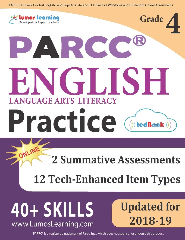 PARCC Test Prep: Grade 4 English Language Arts Literacy (ELA ...