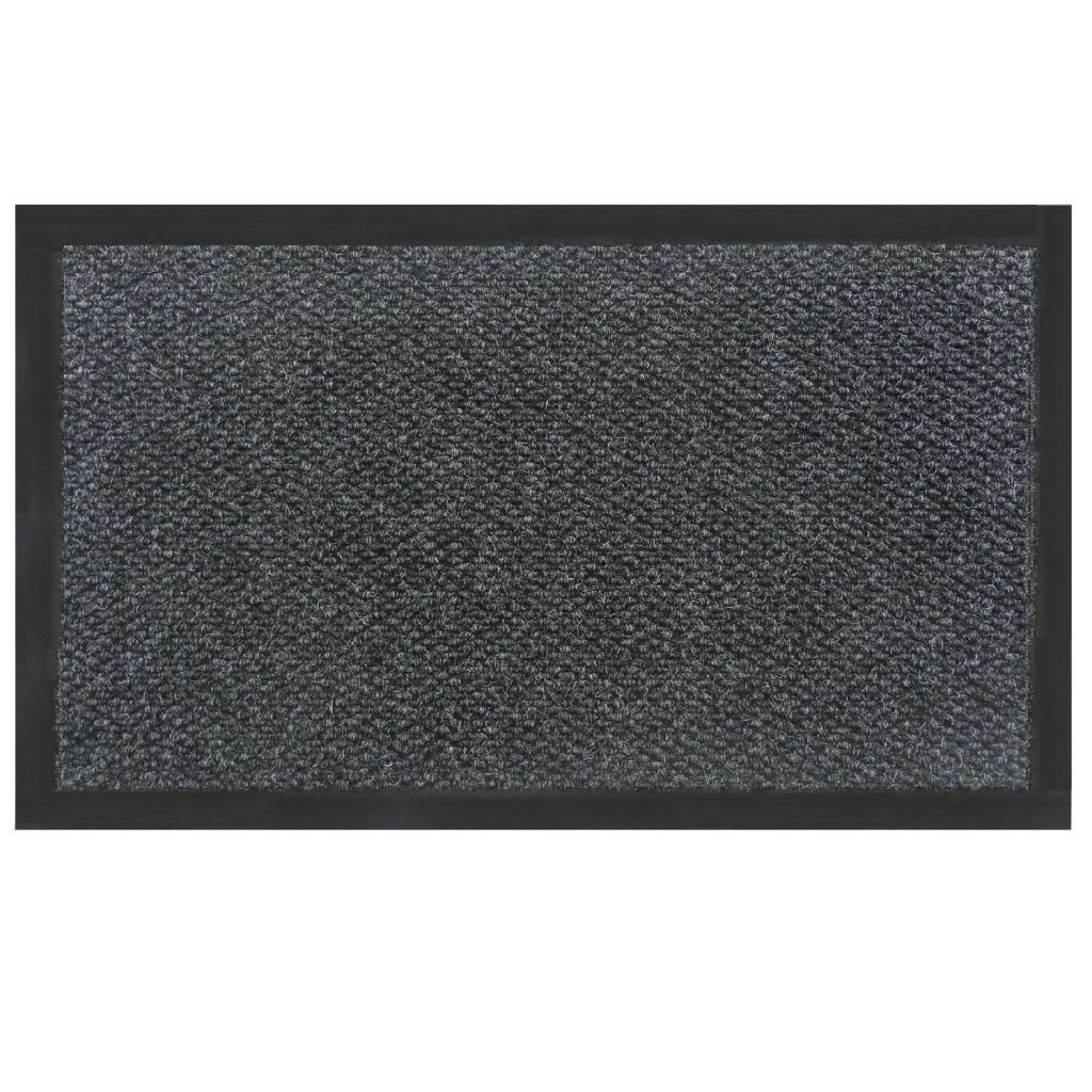 Home & More 14CHA0608 Teton Door/Entry Mat, 6' x 8', Charcoal