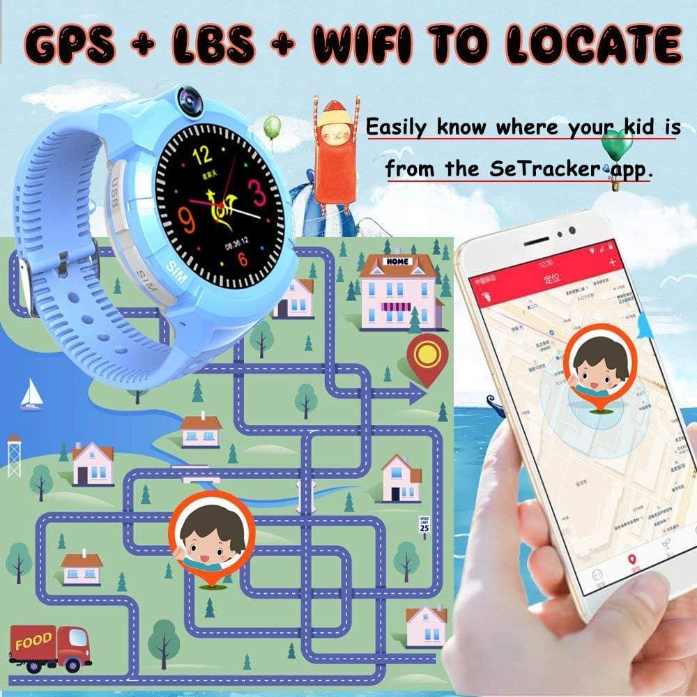"GYR Kinder Smartwatch 1,44"" Touchscreen Kinder Armbanduhr gfh Smartwatchkinder07blau"