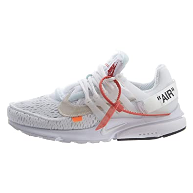 NIKE Air Presto x Off White - White/Black Trainer: Amazon.de ...