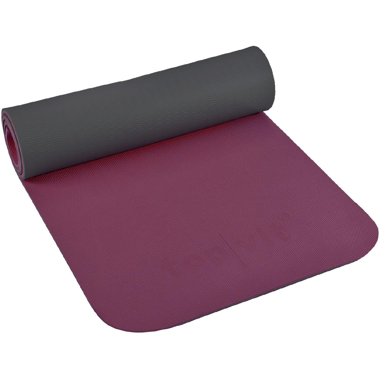 Rutschfest langlebig Ma/ße: ca 180 x 60 x 1,0 cm widerstandsf/ähig top vit Gymnastikmatte Gymnastic.mat 1.0 Latexfreie Yogamatte