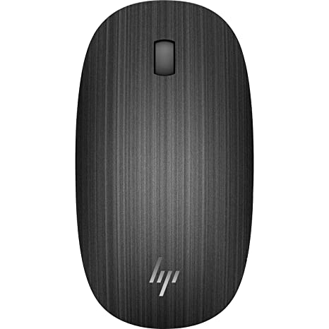 db702a2bc4d Amazon.com: HP Spectre 510 3-Button Wireless Bluetooth Optical Scroll Mouse  w/1600 DPI (Black) (Renewed): Computers & Accessories