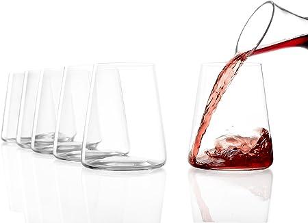 Stölzle Lausitz 1590022 - Vasos de vino tinto, juego de 6, 520 ml