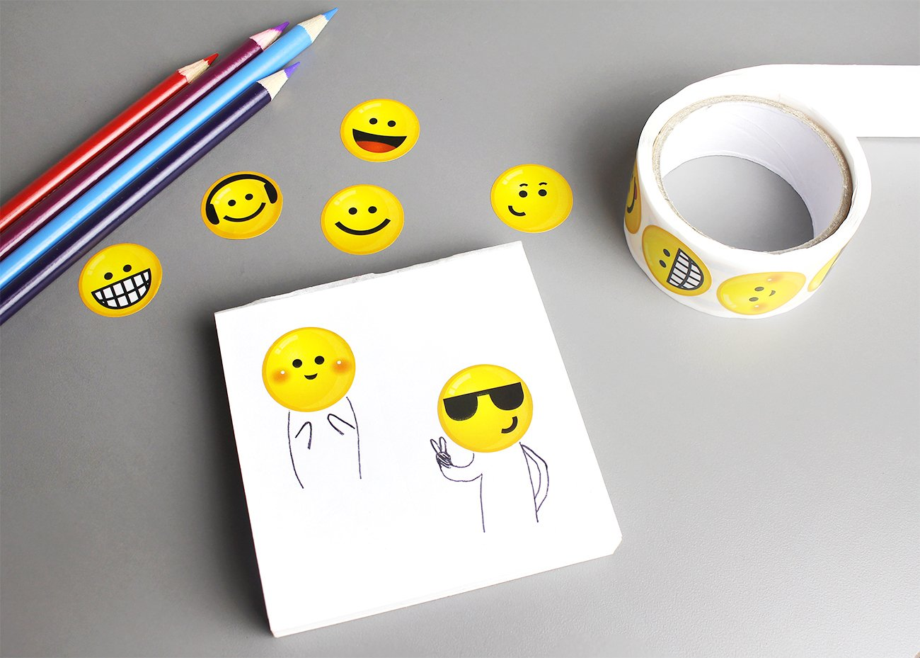 4 Rolls Juvale Teacher Stickers for Kids Smiley Sticker Motivate Encourage Students for School /& Classroom Total 600+ Reward Incentive Stickers