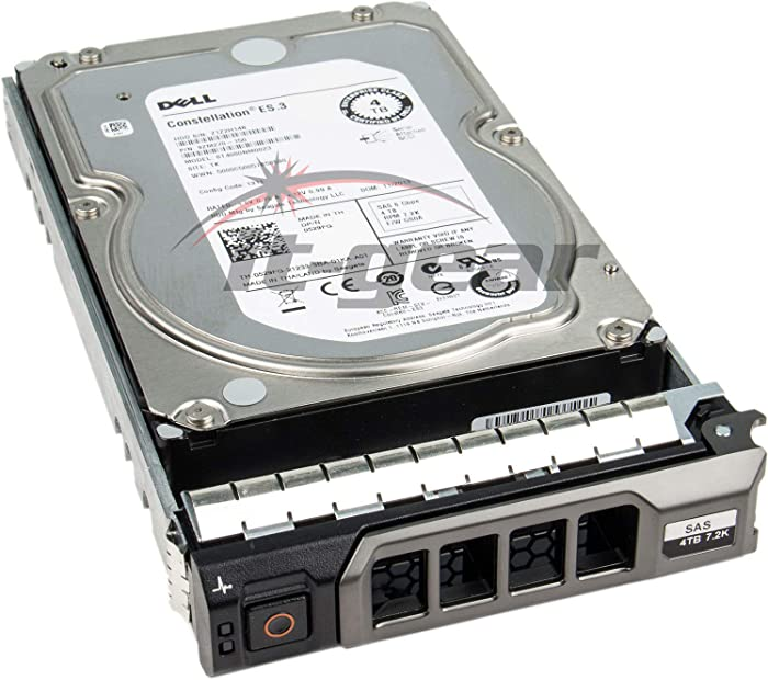 "Dell 529FG 4TB 7.2K RPM SAS 6Gb/s 3.5"" Nearline Enterprise HDD w/ F238F Tray"