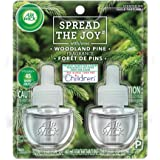 Air Wick Scented Oil 2 Refills, Woodland Pine, (2X0.67oz), Air Freshener