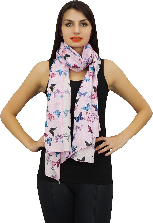 Shawl Scarves Sarong Shawl-Black Phagun Indian Women Wrap Scarf Flamingo Print 100/% Cotton Lightweight