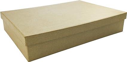 Decopatch A4 Caja (con Tapa), Color marrón: Amazon.es: Hogar