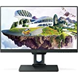 BenQ 25 inch 2K Designer Monitor ( PD2500Q ) , 2560x1440 QHD, IPS, 100% Rec.709 and sRGB, Factory Calibrated, Eye-Care, Ultra Slim Bezel Design, Height Adjustable, Flicker-free, Anti Glare, HDMI, DP