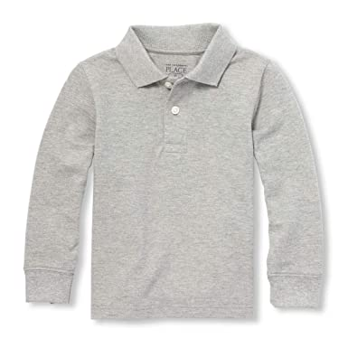 Boys rugby shirt top M /& S baby 3 6 12 18 24 m 2 3 4 5 6 years RRP £10-16 grey