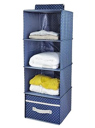 Aufbewahrung Kleidung 4 regal garderobe organizer mit schublade dicke holzbretter innen