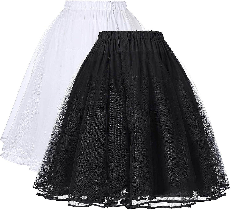 Belle Poque Retro Vintage Swing Dress Crinoline Petticoat Underskirt Skirts