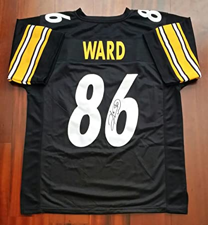 698d62a7b Hines Ward Autographed Signed Jersey Pittsburgh Steelers JSA at ...