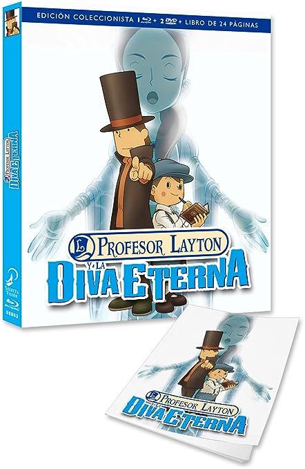 Profesor Layton ... Ed. Col. - Cb/Libro [Blu-ray]: Amazon.es: Animación, Masakazu Hashimoto, Animación, N/A: Cine y Series TV