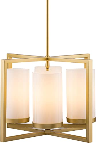 Verona 4 Light Contemporary Intersecting Pendant